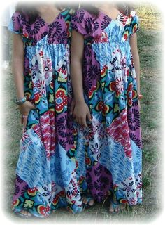 Maxi sewed for girls (wish I could sew)