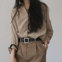 A look, fashion Mode Outfits, Casual Outfits, Fashion Outfits, Womens Fashion, Fashion Hacks, Fashion Ideas, 40s Mode, Korean Fashion Trends, Korea Fashion