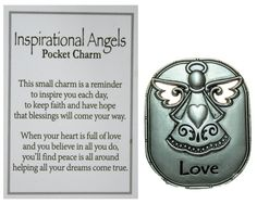 Ganz Inspirational Angel Pocket Charm with Story Card (Love) -- Awesome products selected by Anna Churchill