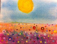 splatter landscape  (read the artist's statement)
