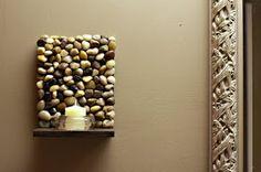 S t a r d u s t - Decor & Style: DIY: Stone Sconces