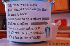 Messy Kids Solution kid-stuff