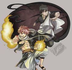 Natsu, Zeref | Fairy Tail