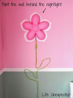 Smila blomma kids wall lamp from ikea room designs pinterest life unexpected home tour ellas aloadofball Images