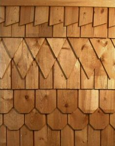 Fancy Cut Pattern Shingles Are From Ontario White Cedar Made In Various Patterns To Adorn Sidewall Gables Victorian