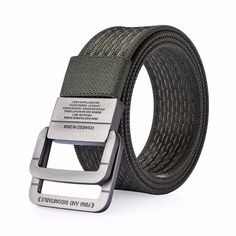 DINISITON Nylon Belt men Army Tactical Belts man Military Waist Canvas male High Quality Equipment Strap ceinture homme generate wonderful features that assist Nylons, Denim Armband, Ceinture Louis Vuitton, Mens Canvas Belts, Military Belt, Military Style, Blue Army, Army Green, Tactical Belt