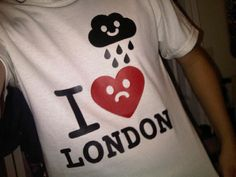 """Our """"I Heart (Rainy) London"""" T-shirt, rocked by DJ Jesus Face. (Loyal Locals / Delme)"""