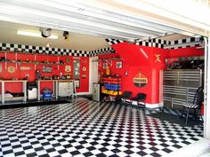 A man's dream garage!