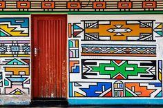 Safari Fusion: Geometric design: Ndebele
