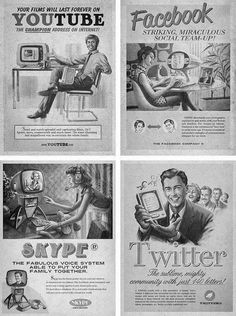 Back to the future with social media