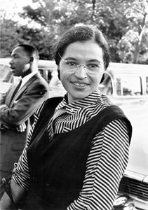 "I didn't know, did you know®…that today is Rosa Parks' birthday…  Today in women's history, Rosa Parks was born in 1913. Share this post to wish her a happy birthday and thank her for ""sitting down"" for what she believed in!    ""I have learned over the years that when one's mind is made up, this diminishes fear; knowing what must be done does away with fear."""
