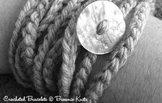 Brownie Knits - Crocheted Bracelets Pattern FREE