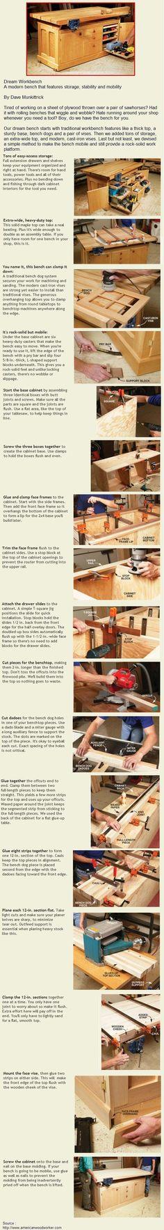 Dream Workbench   WoodworkerZ.com