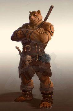 Ursine Character by dleoblack on deviantART