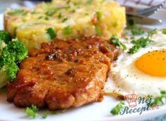 No Salt Recipes, Pork Recipes, My Recipes, Cooking Recipes, Pork Tenderloin Recipes, Risotto, Mashed Potatoes, Good Food, Food And Drink