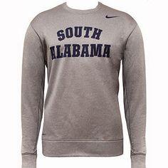 Nike Therma-Fit South Alabama Crew Neck Sweatshirt $42.95 usabooks.collegestoreonline.com