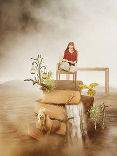 ... Surreal artworks, Amandine Van Ray