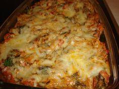 Bucataria cu noroc - Budinca de legume au gratin (budinca gratinata) Lasagna, Ethnic Recipes, Food, Veggie Bake, Eten, Meals, Lasagne, Diet