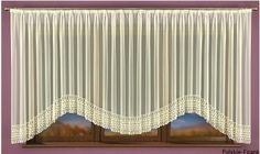 Firana gotowa ISAURA kremowa 600 x 160 cm Valance Curtains, Home Decor, Homemade Home Decor, Valence Curtains, Decoration Home, Interior Decorating