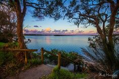Shoalhaven River at Sunset, by Andy Hutchinson