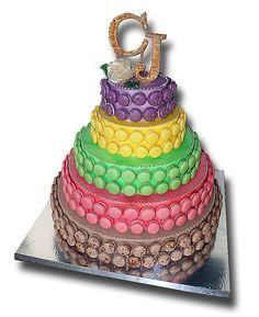 """Pièce Montée  Type Weedding cake"""" A partir de 196 macarons Sans Lactose, Types Of Cakes, Macarons, Wedding Cakes, Personalized Items, Wedding Gown Cakes, Macaroons, Cake Wedding, Wedding Cake"""