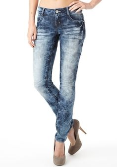Almost Famous Bleached Skinny Jean
