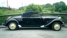 1953 Citroen Traction Avant Big Six Be still my heart, mon coeur
