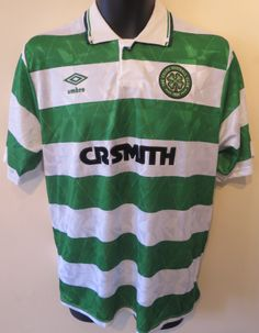 Glasgow Celtic shirt by Umbro Football Gear, Football Photos, Football Stuff, Classic Football Shirts, Celtic Fc, Vintage Shirts, Polo Ralph Lauren, Soccer, Glasgow