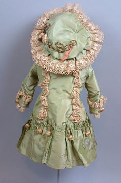 The Ultimate Original 1885 Antique Silk Bebe Bru or A. Thuiller from kathylibratysantiques on Ruby Lane