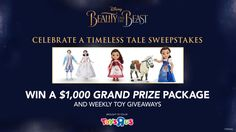 Enter for a chance to win some epic Beauty and the Beast prizes