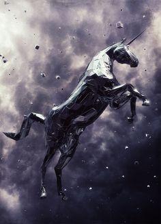 Unicorn 3 #illustration #illustrator #product #digital #art #inspiration #grahic #design #marketing #jablonskimarketing