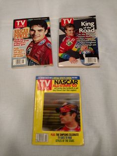 Nascar Jeff Gordon 2003 TV Guide Collection 3 D Lot of 3