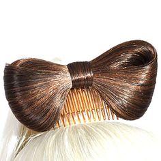 mote butterfly chignon hår parykk tilbehør – NOK kr. 31