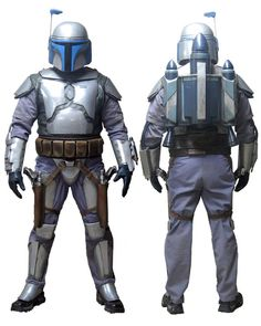 Jango Fett full front and back. 501st Legion Costume Reference Library.
