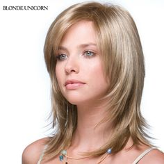 63.00$  Watch here - http://alilef.worldwells.pw/go.php?t=32660018818 - Blonde Unicorn Spiffy Long Wigs Human Hair Wigs For Women Blonde Human Hair Wigs Layered Customized 9 Colors Free Shipping