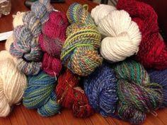 Handspun Yarn by www.afhandcrafts.com