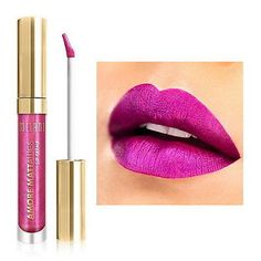 Milani Amore Metallics Lip Creme Liquid Lipstick - Automattic Touch -Limited Ed.  #cheatermascara #iheartmakeup #eyeliners #blackmascara #makeuptrends #skinglow #makeup #geleyeliner #eyeliner #makeupforever