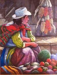 Resultado de imagen para cuadros de la sierra peruana con texturas