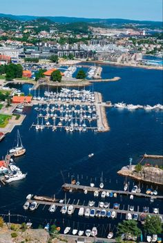 The Southern Norway city of Kristiansand is an important port for big cruise ships and little leisure boats alike Amazing Places, Great Places, Kristiansand Norway, Biggest Cruise Ship, Visit Norway, Cruise Ships, Archipelago, Travel Guide