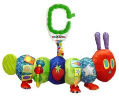 Perfect interactive Caterpillar toy for lovers of The Very Hungry Caterpillar book by Eric Carle.