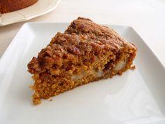 :pastry studio: Pumpkin Pear & Pecan Streusel Cake