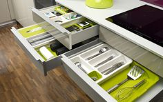 DrawerStore™ by Joseph Joseph | Expandable Drawer Organisers