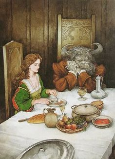 P.J. Lynch -- The Candlewick Book of Fairytales ...Beauty and the Beast