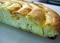 Traditional Bulgarian Banitsa. I definitely want to try this!