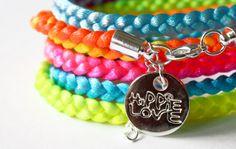 HIPPIE LOVE RAINBOW (neon)