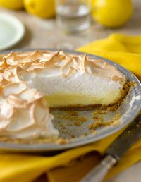 Magic Lemon Meringue Pie: Cookbook Recipes - Home Cooking with Trisha Yearwood Excerpt at WomansDay.com