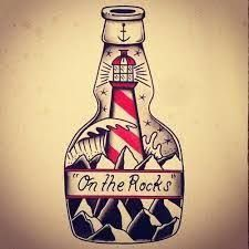 Image result for alcohol old school tattoo