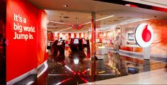Vodafone store Graduate Jobs, Phone Store, Retail Space, Store Design, Product Launch, Neon Signs, Marketing, Interior Design, Electronics