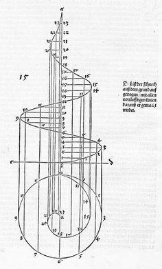 dai-ism speciesbarocus: Albrecht Dürer Vnderweysung d. Geometric Patterns, Geometric Art, Sacred Geometry Symbols, Sacred Geometry Tattoo, Albrecht Durer, Fractal Art, Fractals, Arte Obscura, Fibonacci Spiral