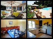 Petit Paradis - Villa mit eigenem Pool, Telefon und Internet -   Languedoc - Roussillon -   Hundeurlaub: der Urlaub mit Hund in Ferienwohnung oder Ferienhaus